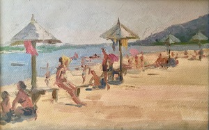 SOLD At the beach (Crimea)