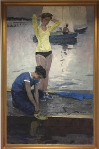 SOLD The Rowers - Sportwomen