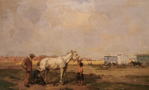 Farrier with trailers