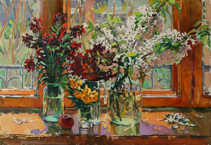 Still life in the window