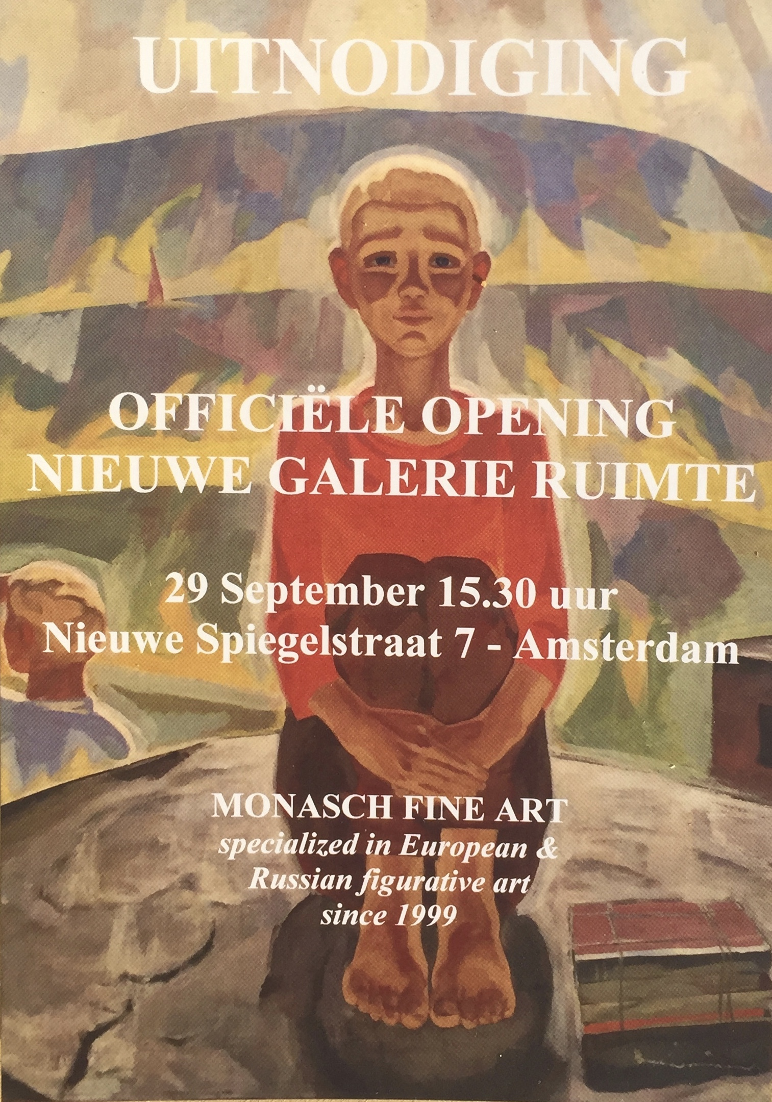 Amsterdam - Start of the season - this weekend - September 29-30 - 11am-6pm